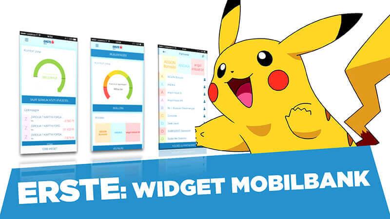 Az Erste Pokémon Go-ja: widget mobilbank