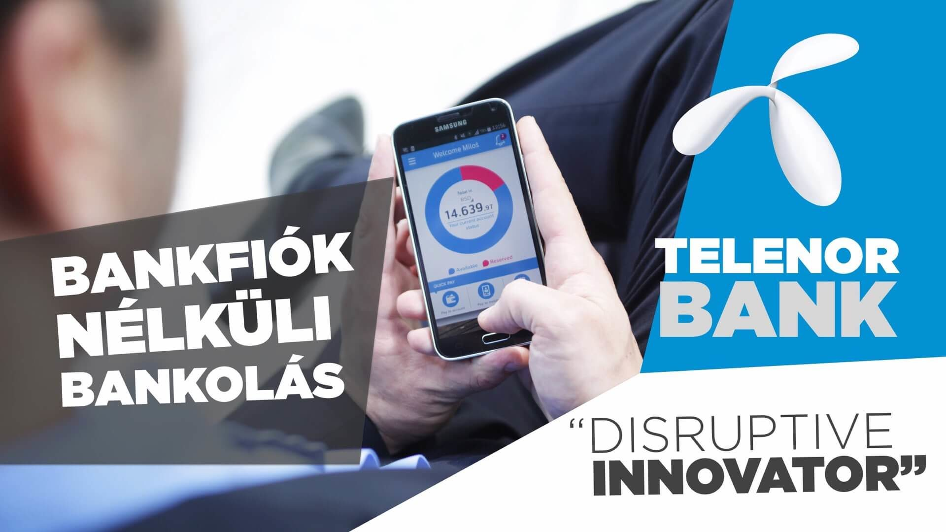 Telenor Bank, a jövő (mobil) bankja