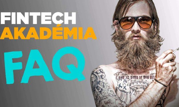 FinTech Akadémia – FAQ