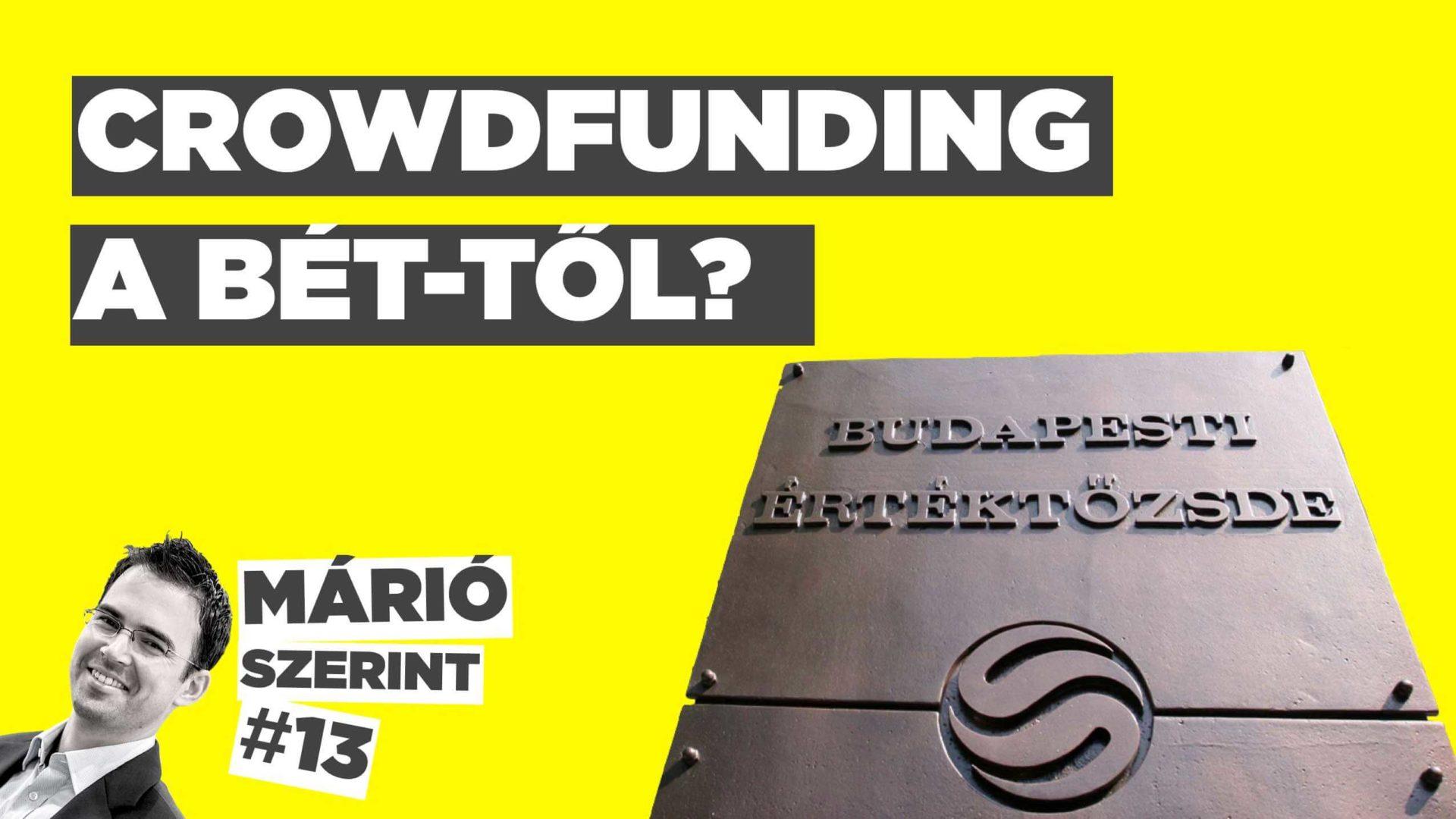 Jöhet a BÉT crowdfunding platformja (is)