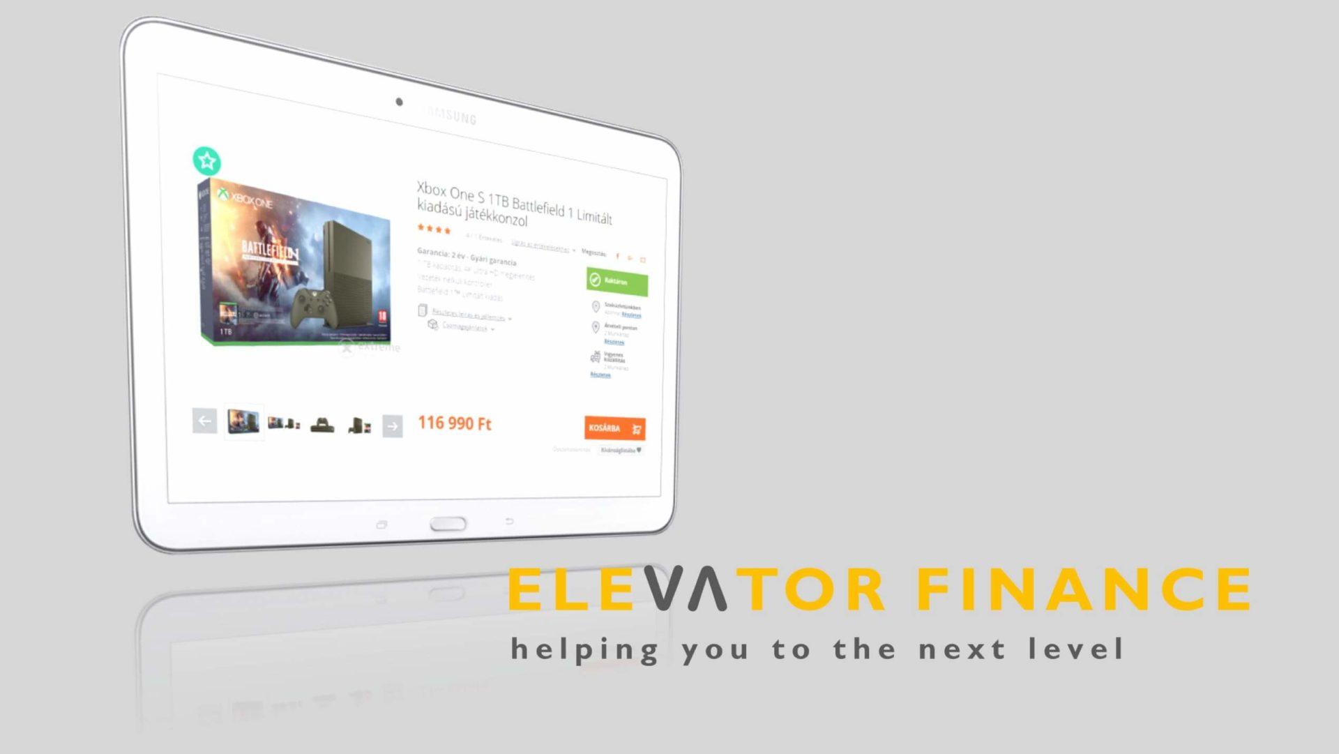 elevator finance áruhitel MKB FinTech Verseny