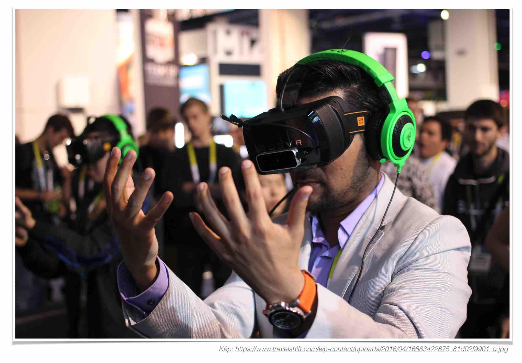 virtuális valóság és a fintech