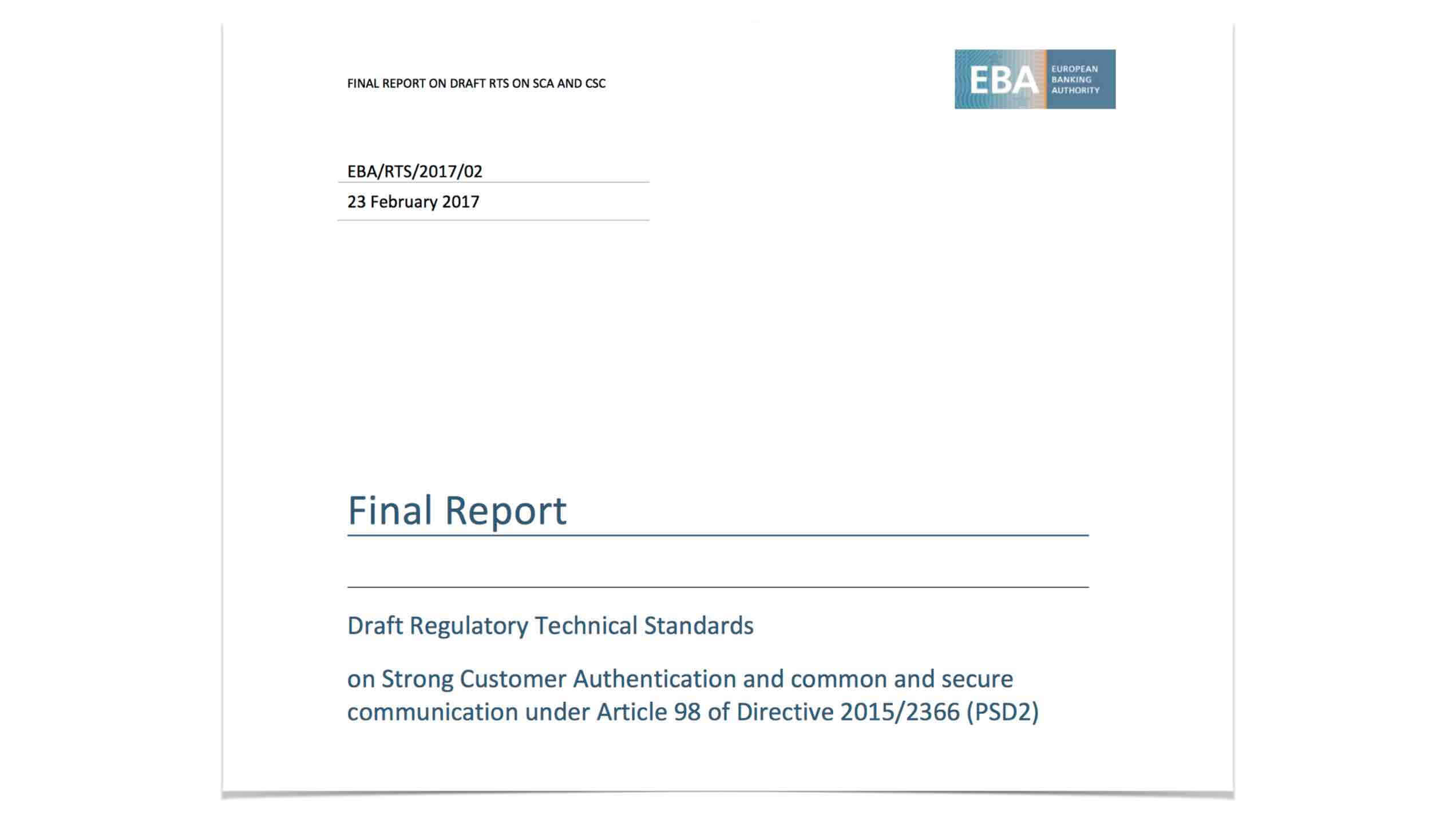 RTS Final Report