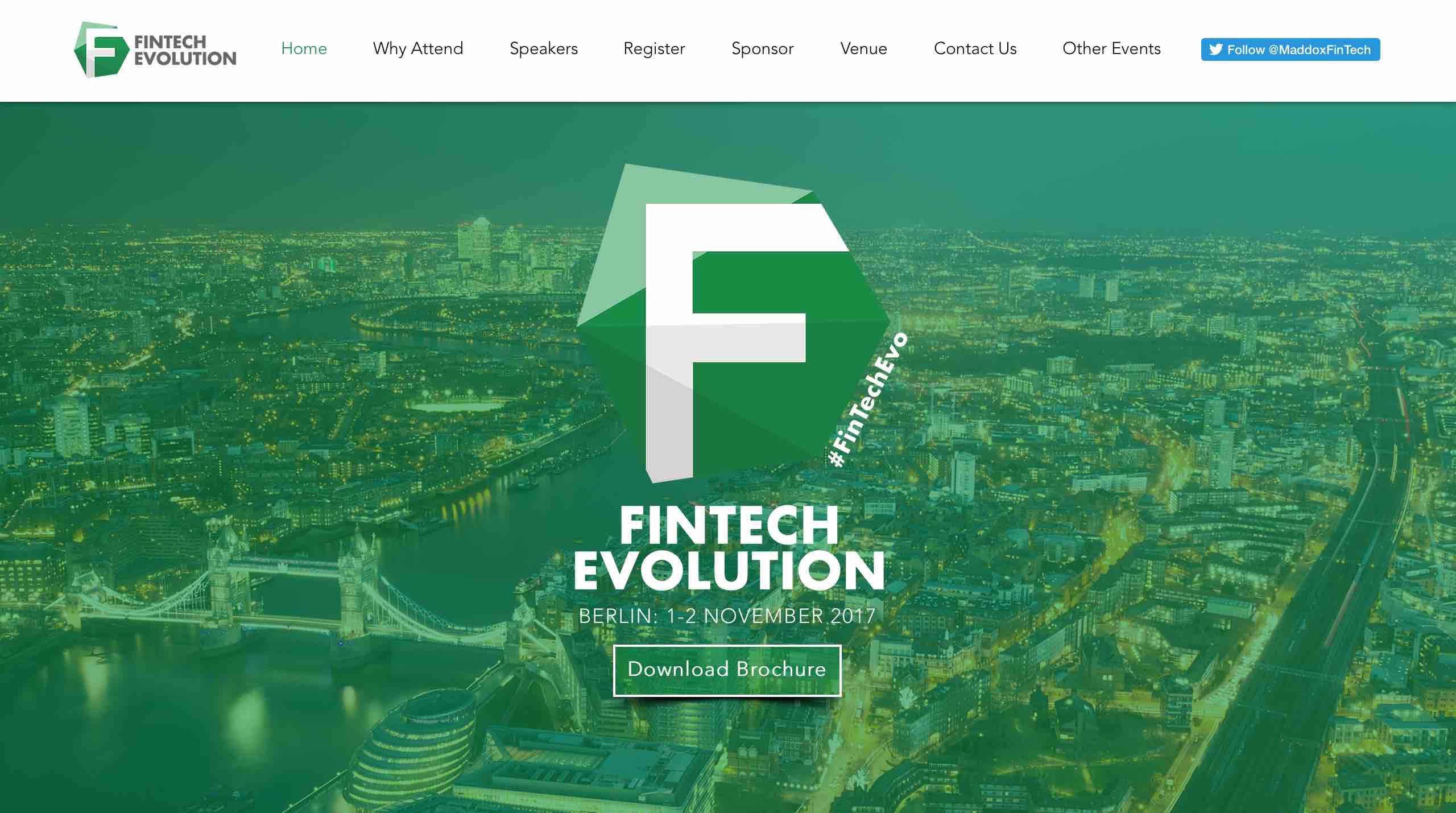 fintech evolution conference