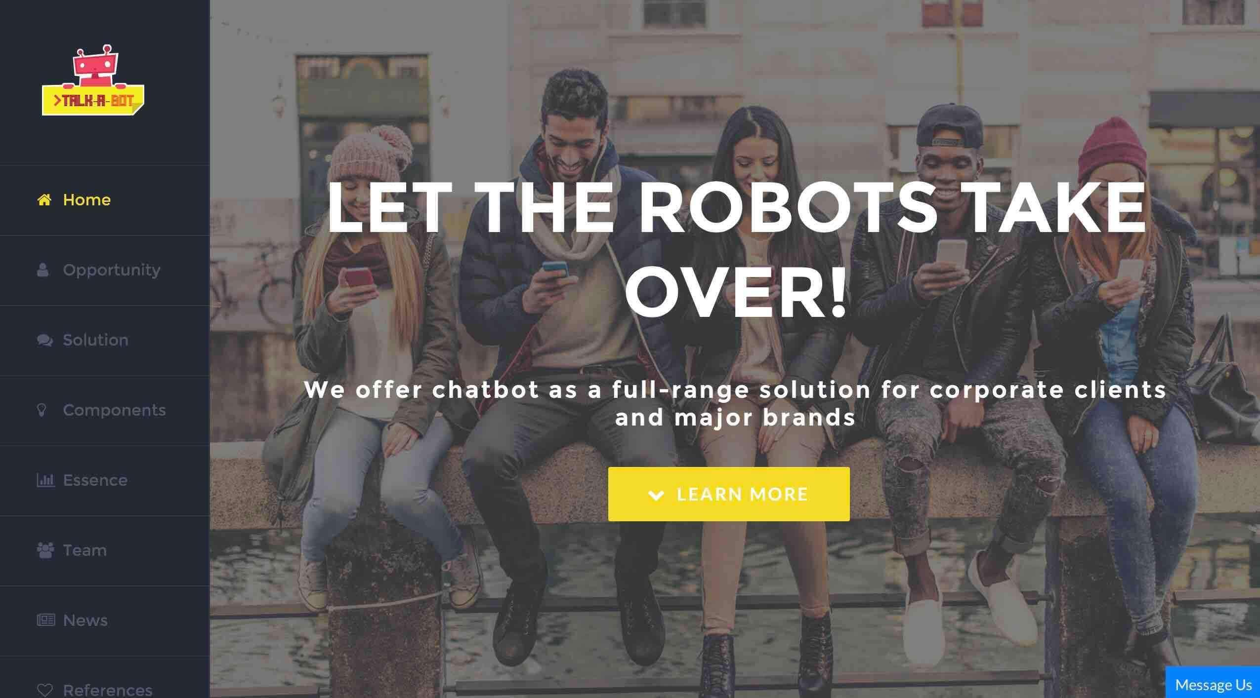 talk-a-bot fintech