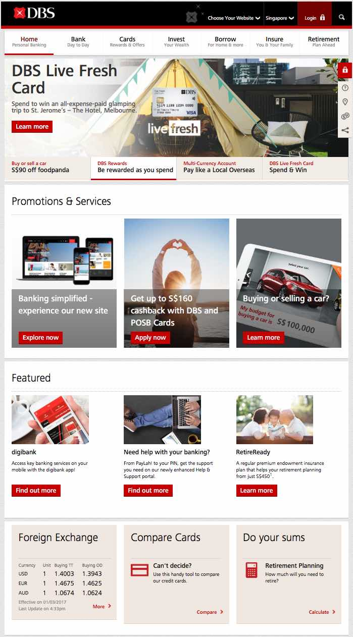 DBS Bank digibank retail