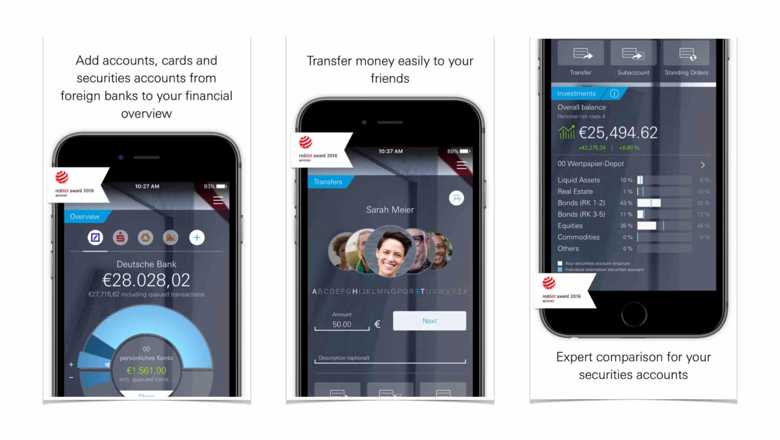 Detsche Bank mobil bankolás alkalmazás