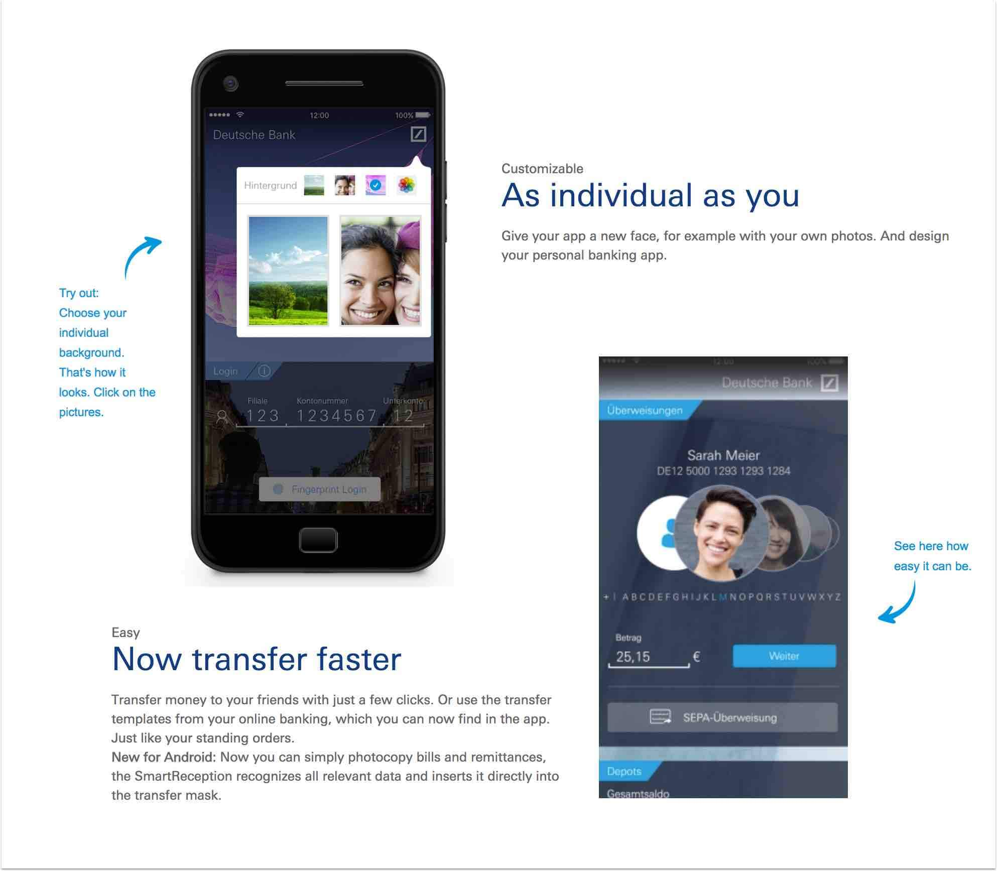 Deutcha Bank mobil bankolás