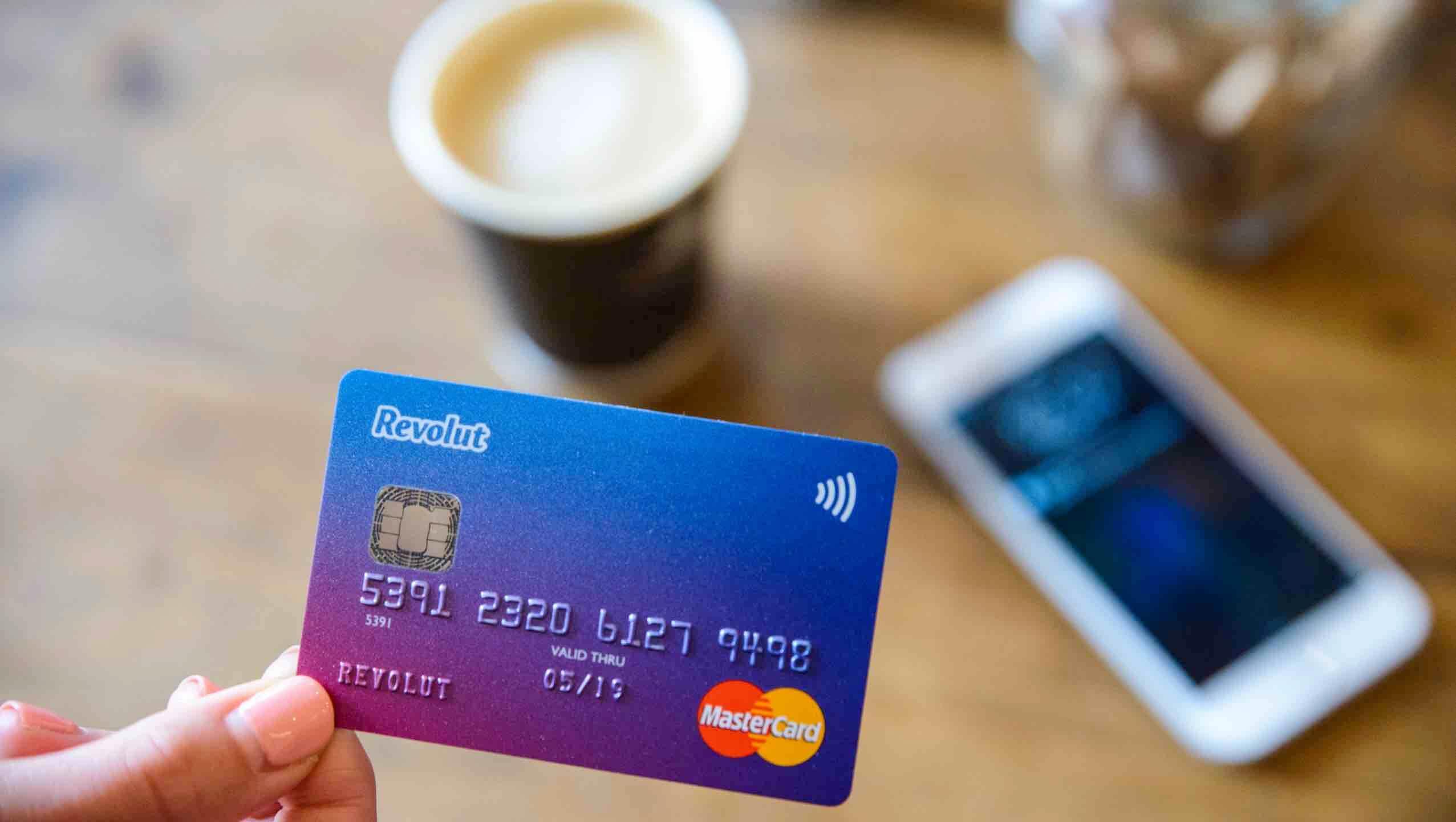 Revolut prepaid kartya
