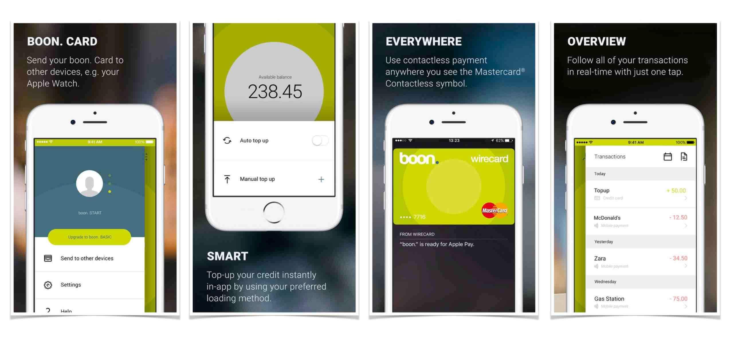 boon. mobilfizetés prepaid