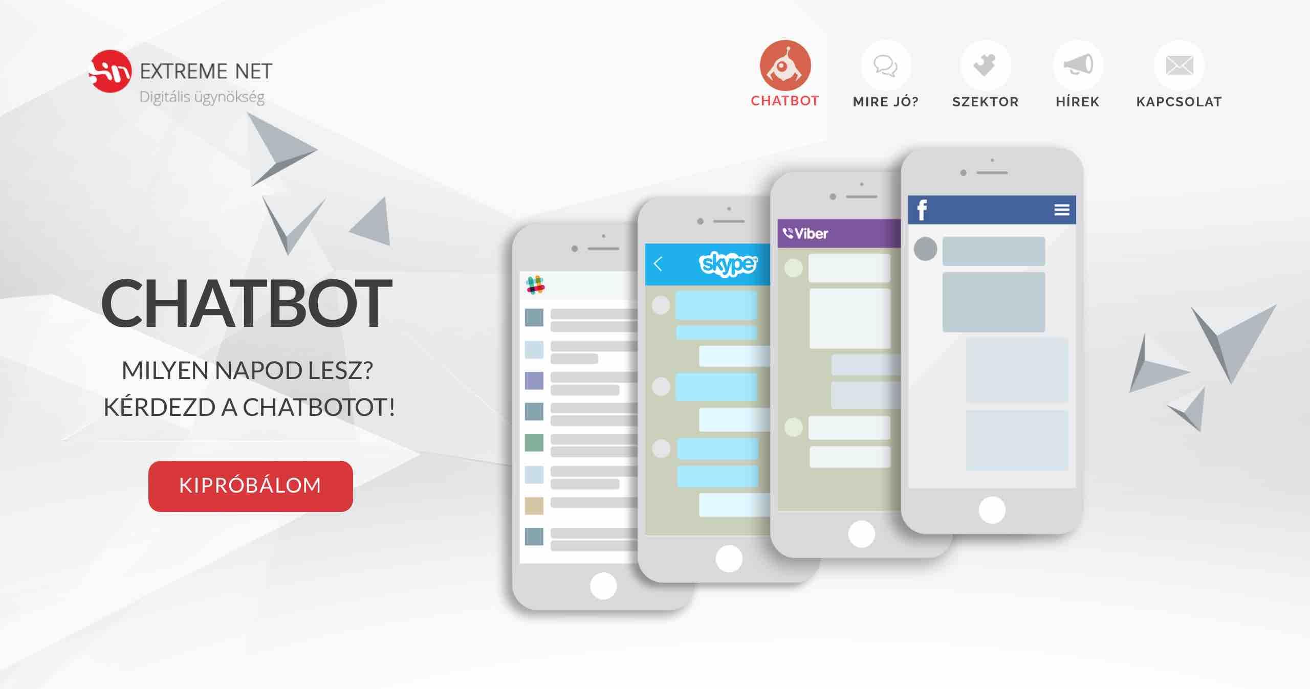 chatbot Extreme Net Fintechshow
