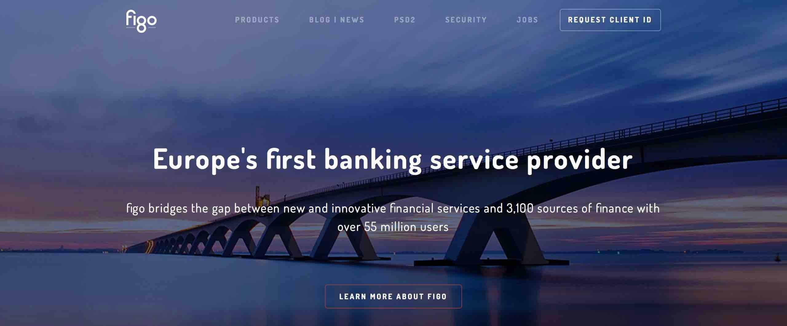 BaaS API fintech bank figo