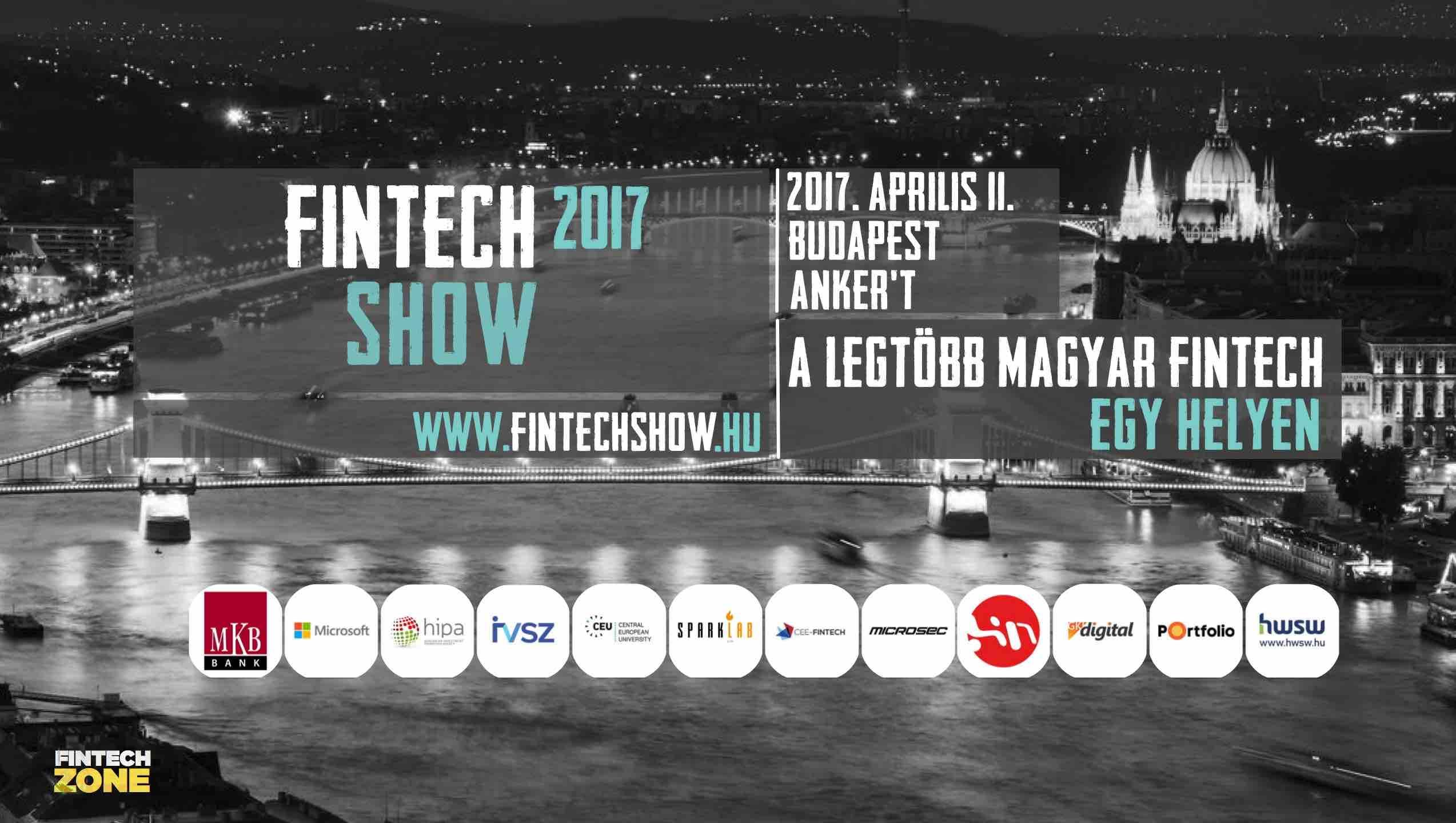 FinTechShow 2017 FinTechZone fintech startupok