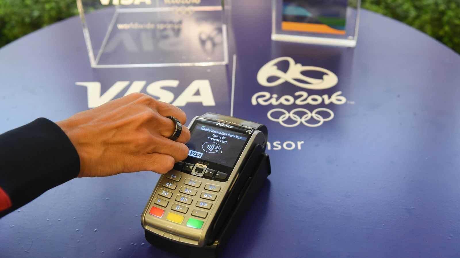 okosgyűrű Visa payment