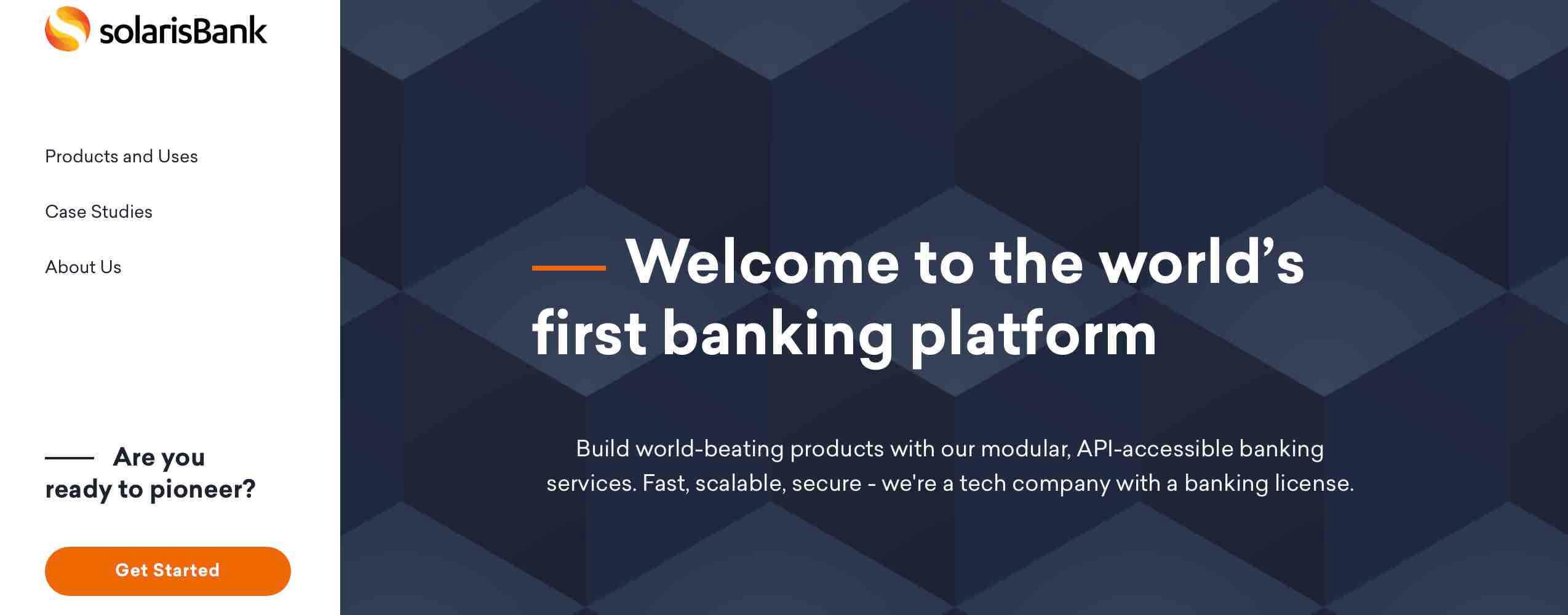BaaS SolarisBank API fintech