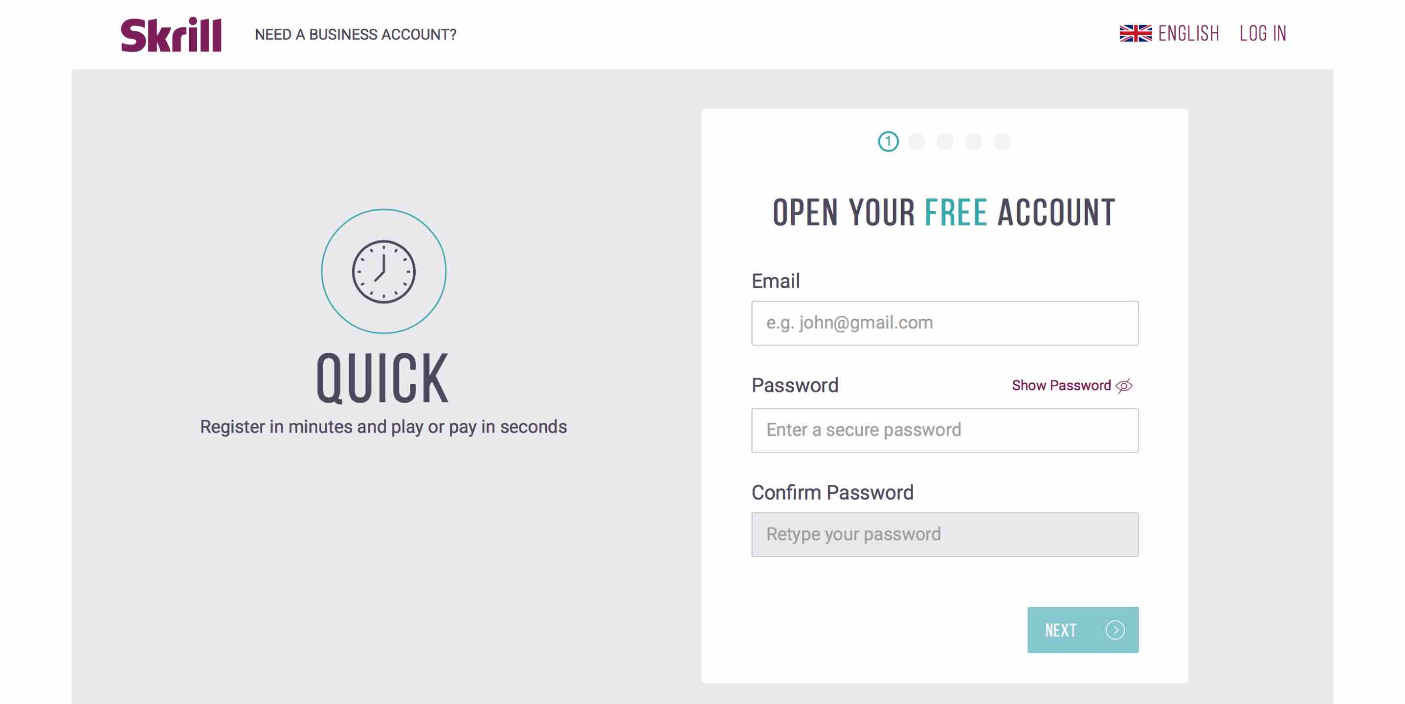 skrill free account prepaid