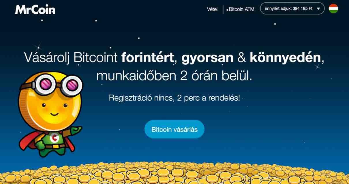 Mrcoin magyar fintech piacter