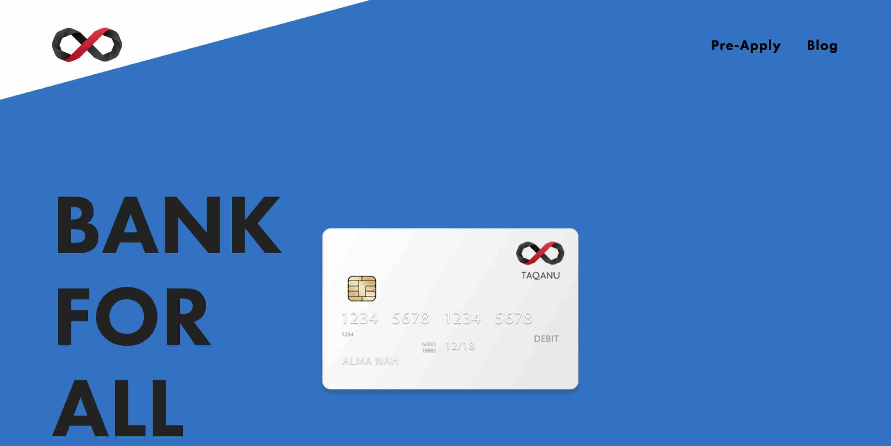 Taqanu fintech startup blockchain