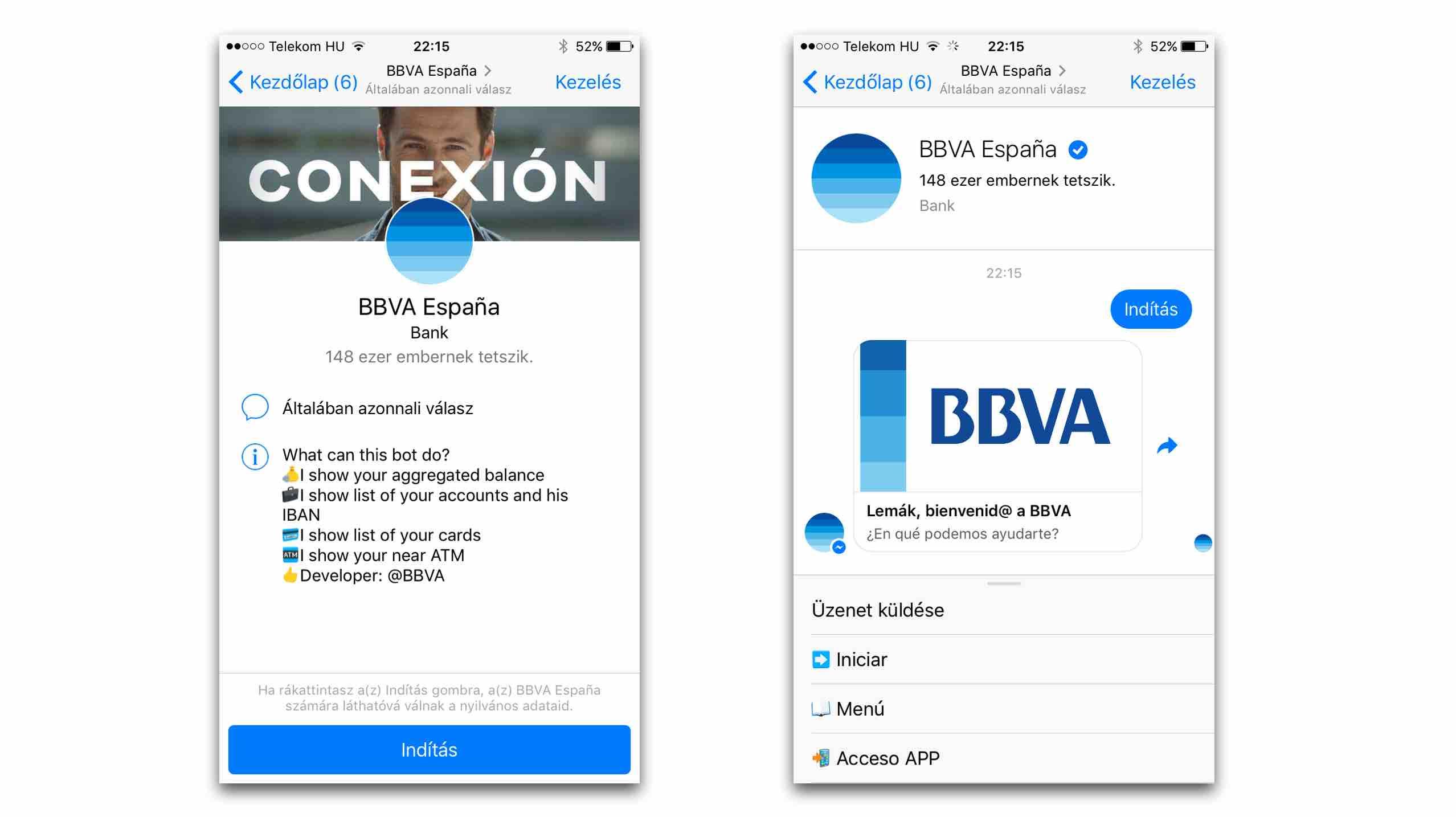 bbva chatbot bankolas messenger