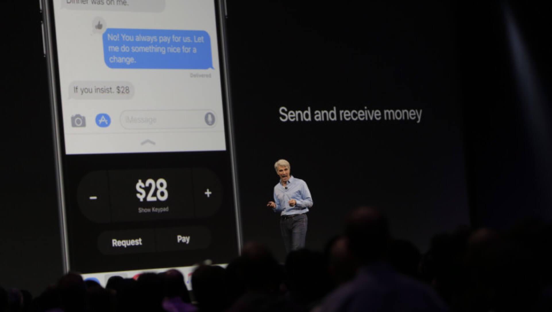 Apple Pay P2P penzkuldes