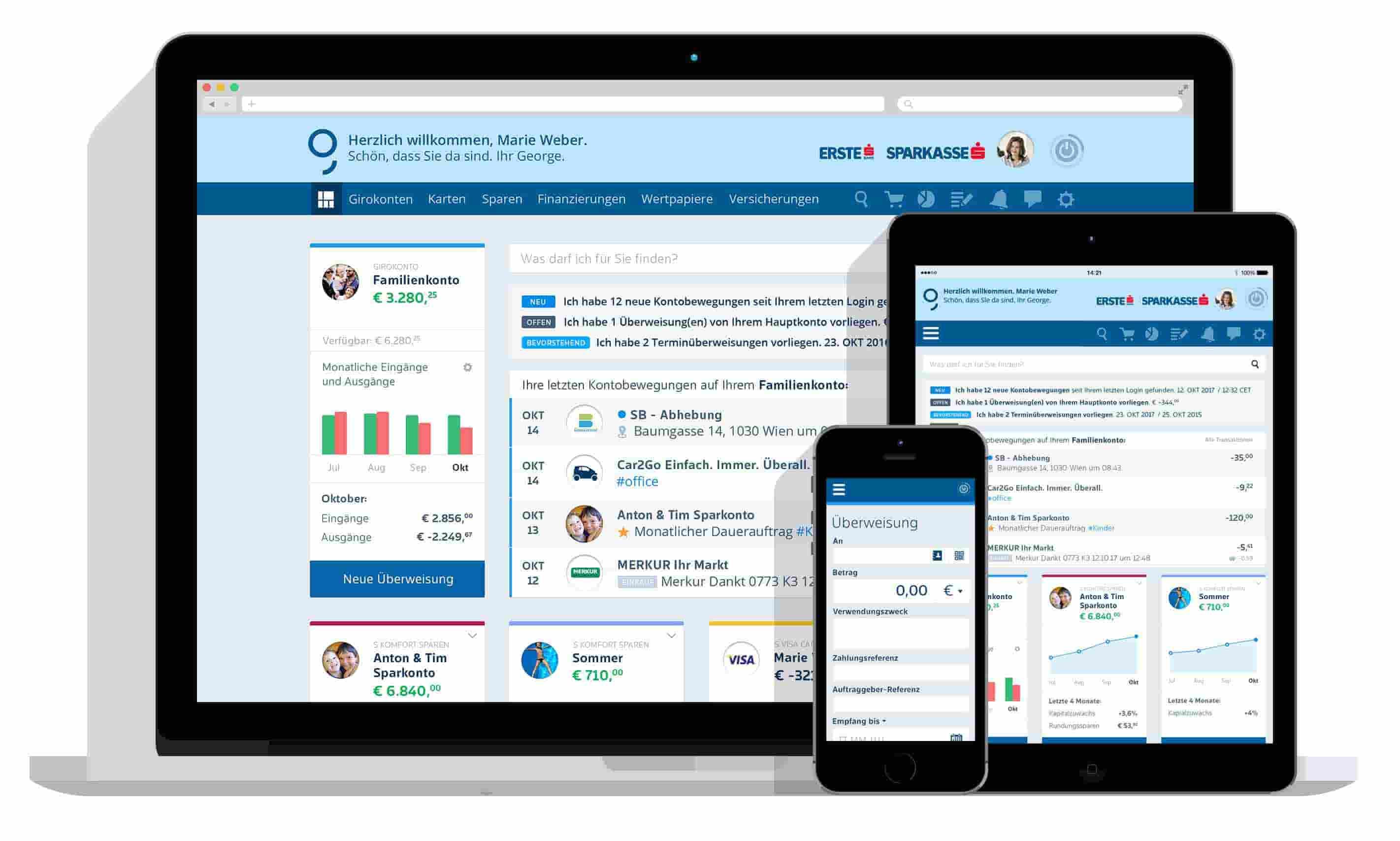 1 millió felhasználója van az Erste új digitális banki platformjának. Hello George! | FinTechZone