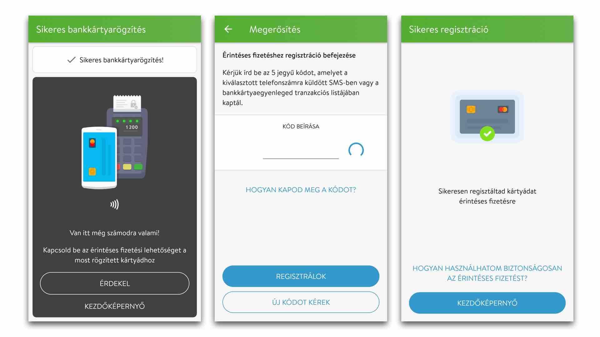 Simple OTP mobilfizetés