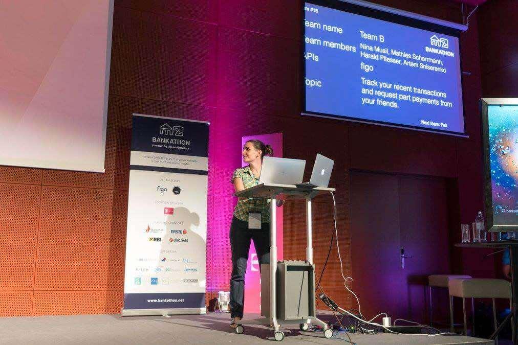 fintech hackathon team B digitális bankolás
