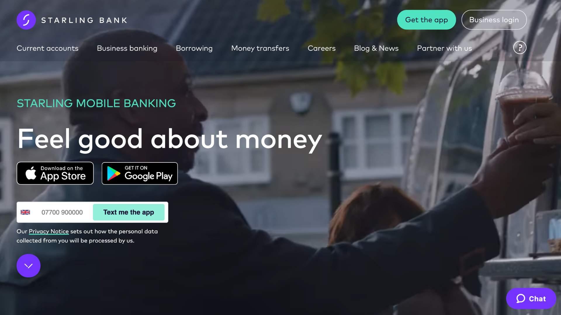 starling bank fintech bank