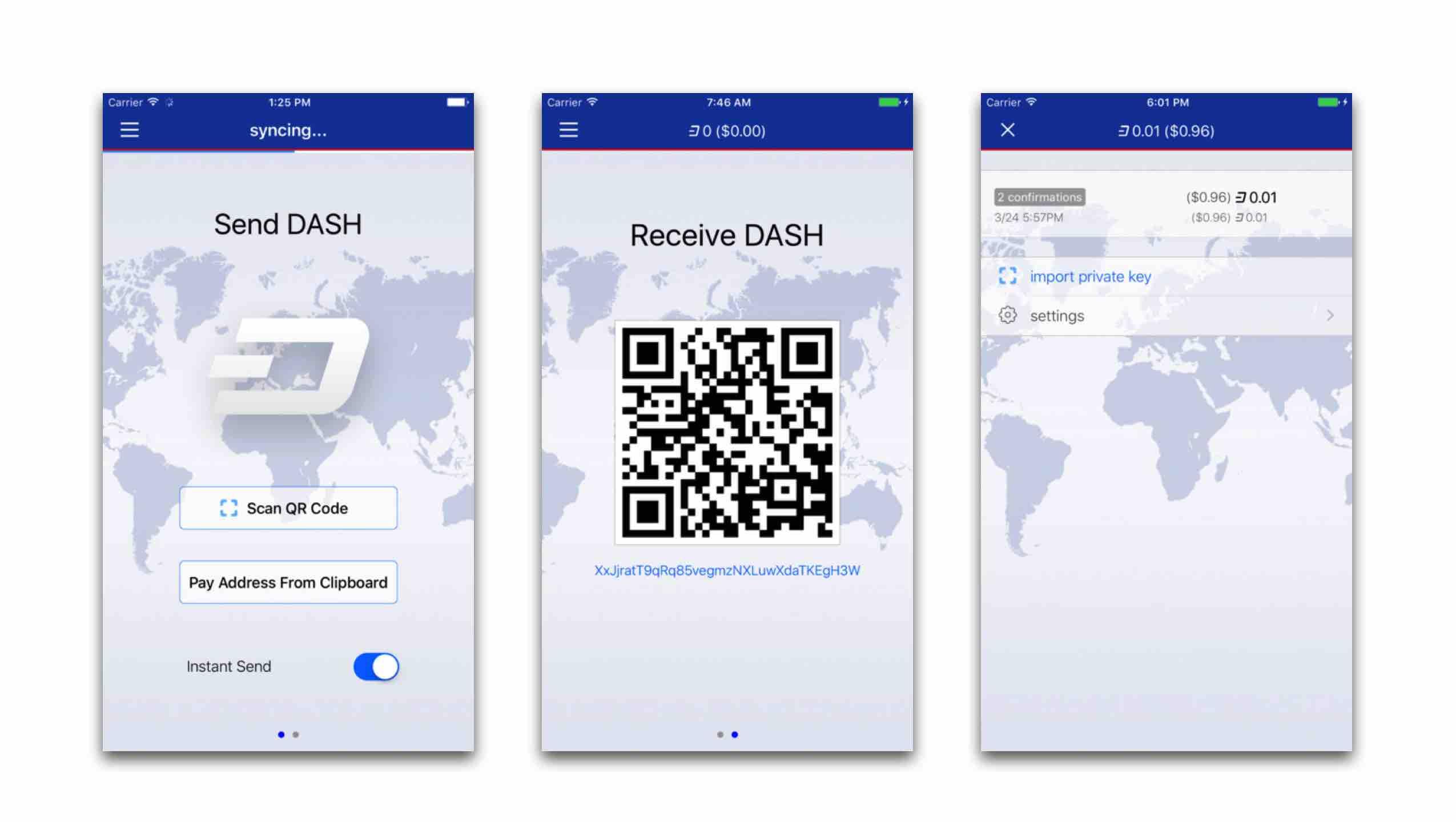 Dash kriptovaluta app store letoltes