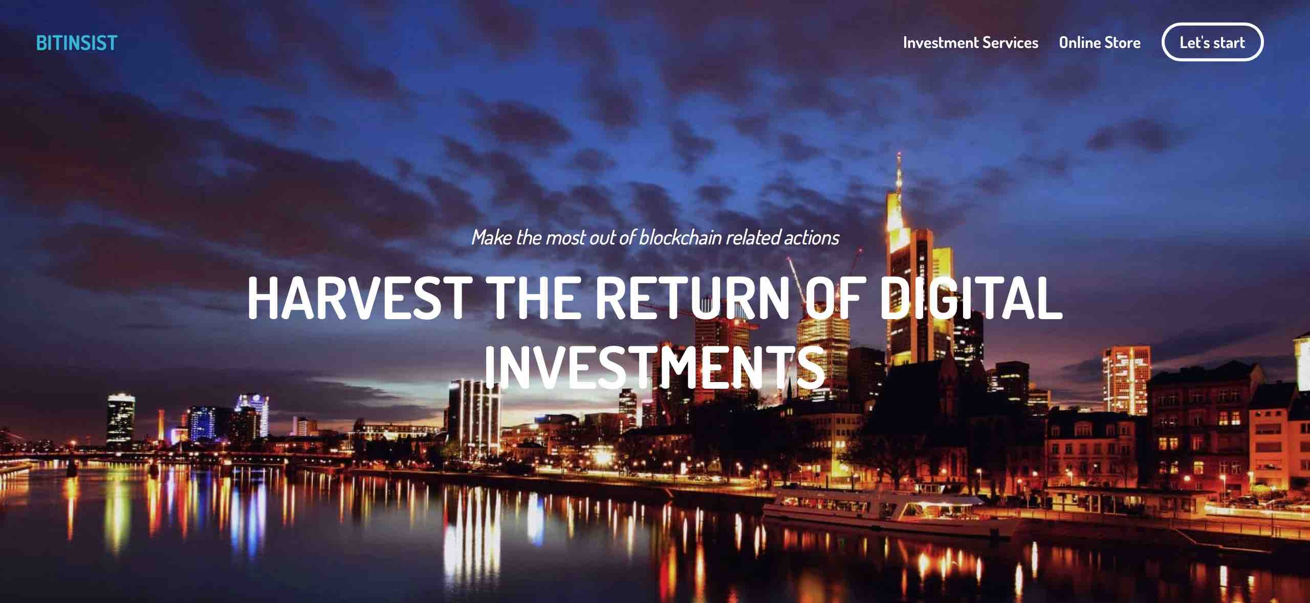 bitinsist bitcoin banyaszat kriptovaluta