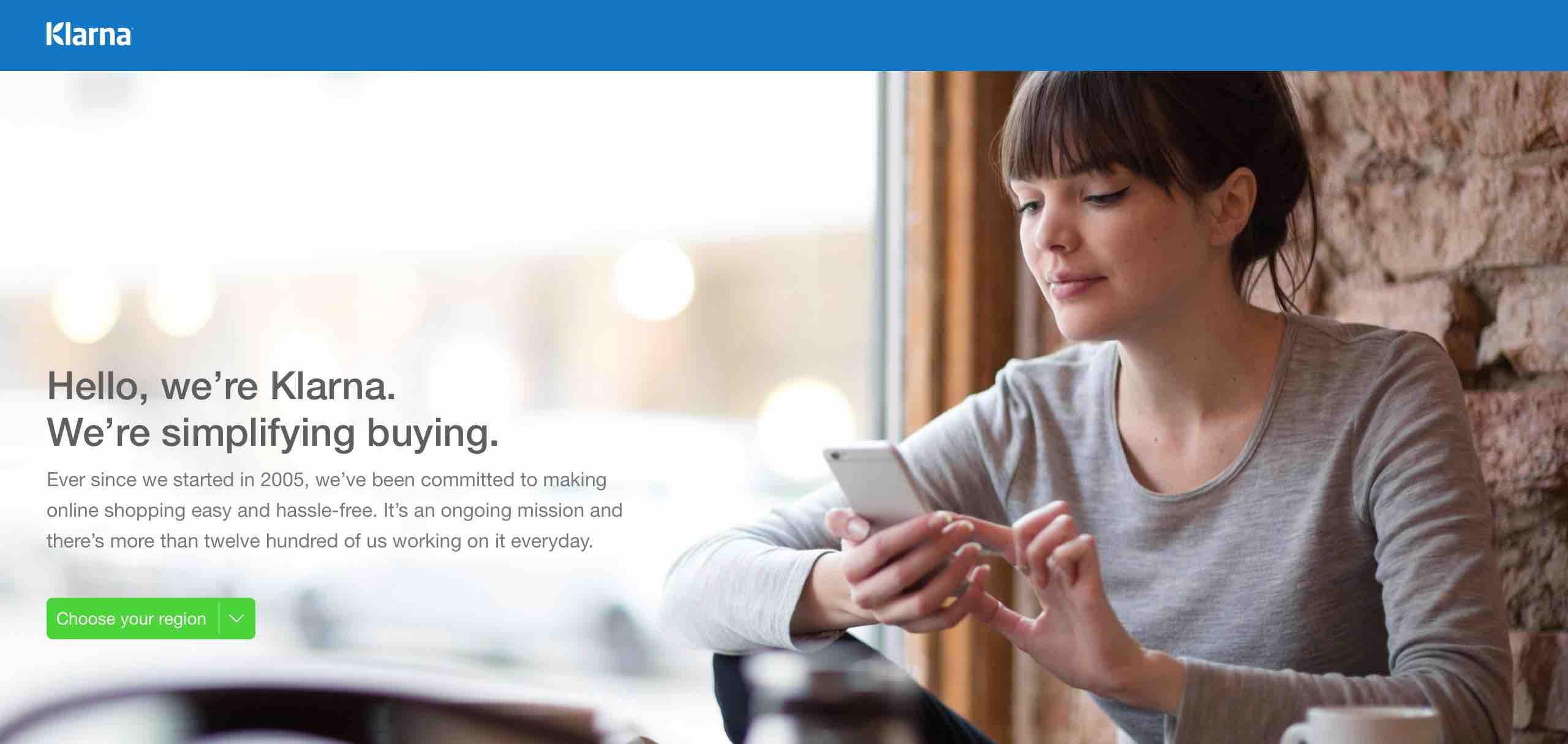 klarna e-commerce fizetesi szolgaltato webshop