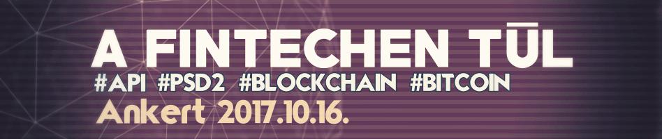 A fintechen tub PSD2 API Blockchain bitcoin