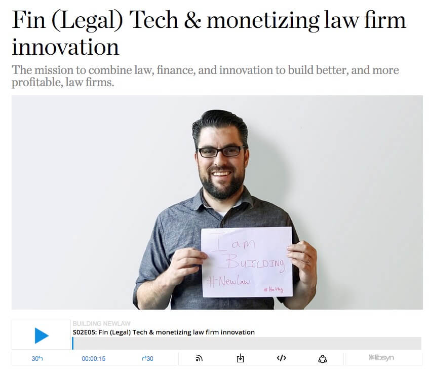 fin(legal)tech fintech newlaw