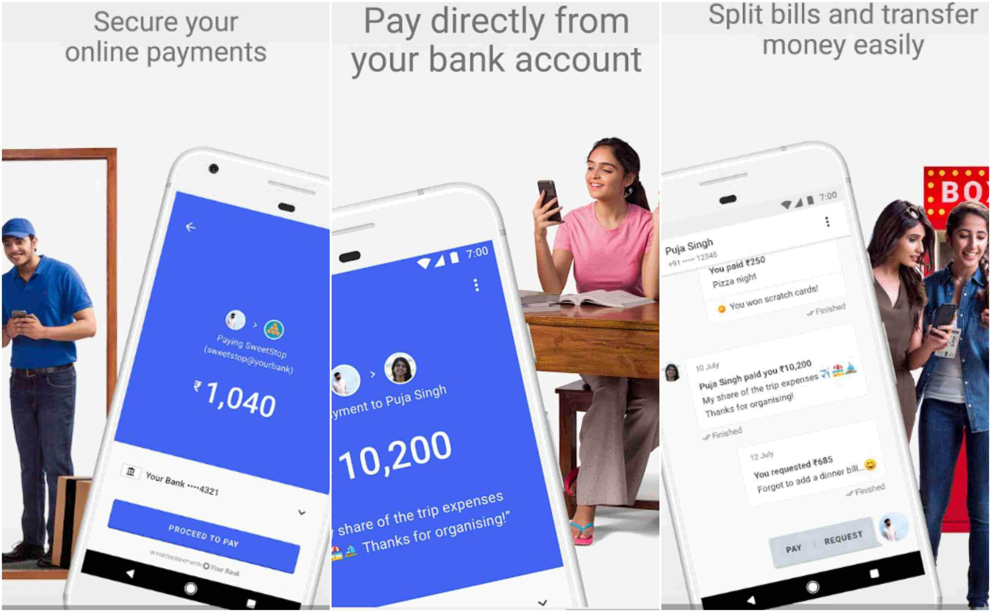 Google TEZ app mobilfizetes azonnali fizetesi rendszer