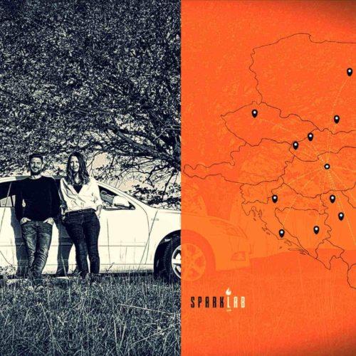 Elindult a Sparklab hétezer kilométeres európai startup-vadász körútja