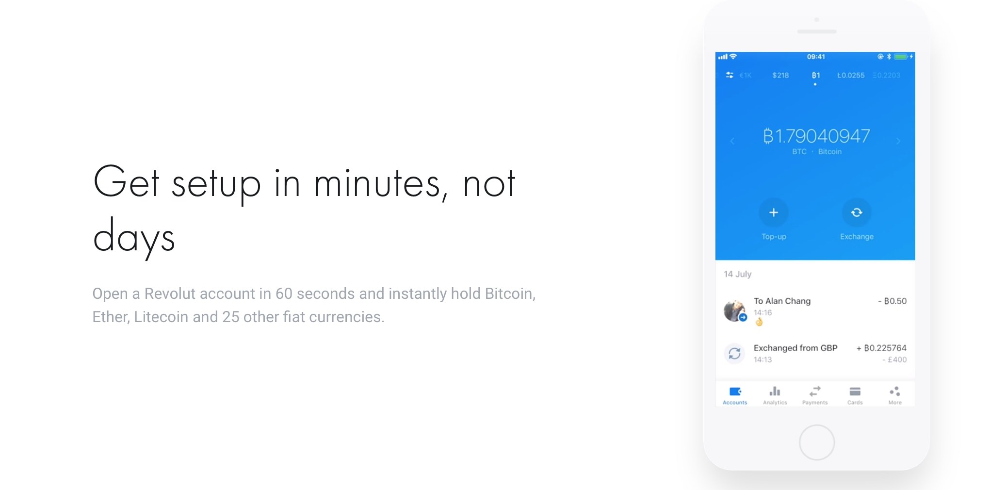 Revolut kriptovaluták bitcoin