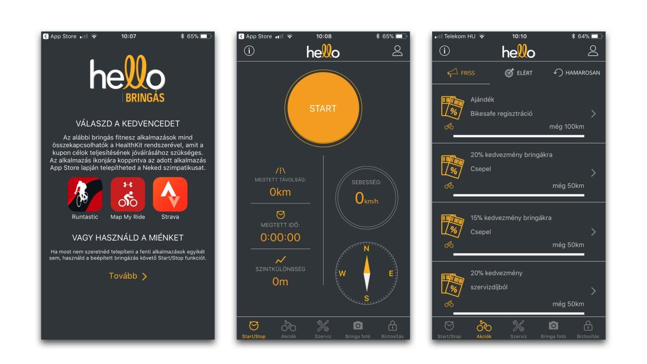 hello bringas app Posta Biztosito