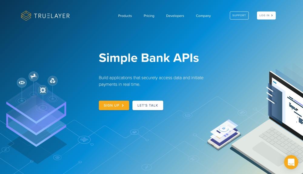 Truelayer PSD2 API hozzaferesek