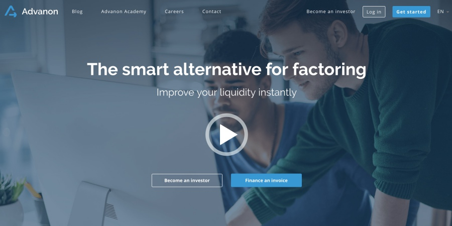 advanon fintech startup