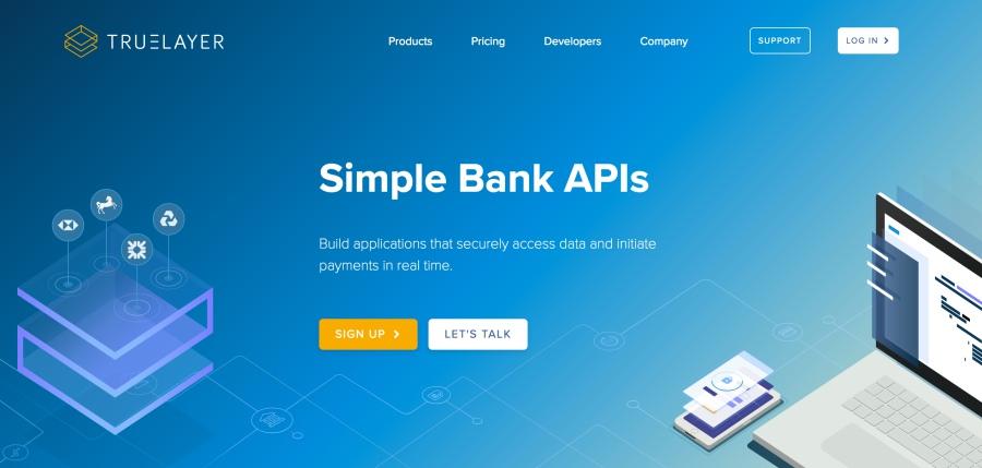 PSD2 truelayer API