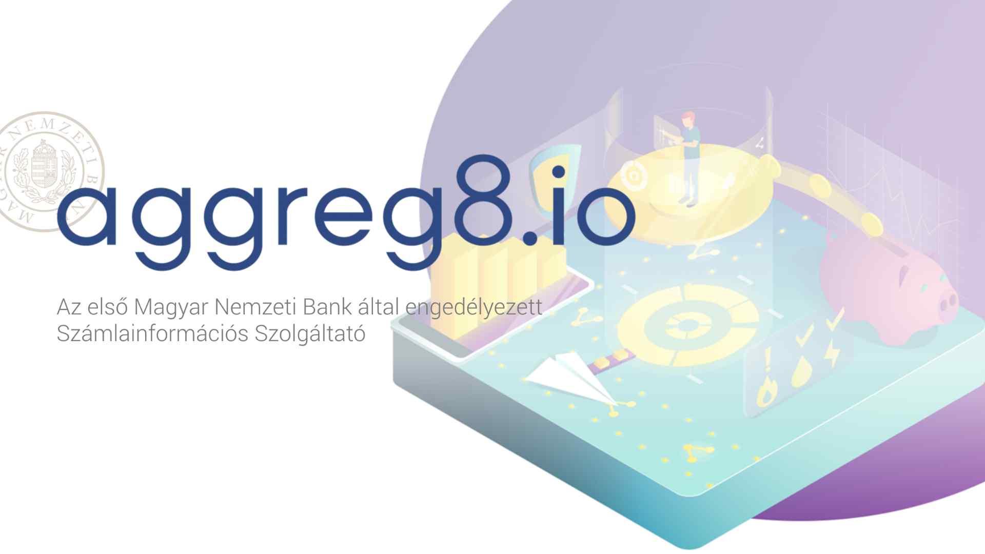 Aggeg8.io magyar fintech startup piacter