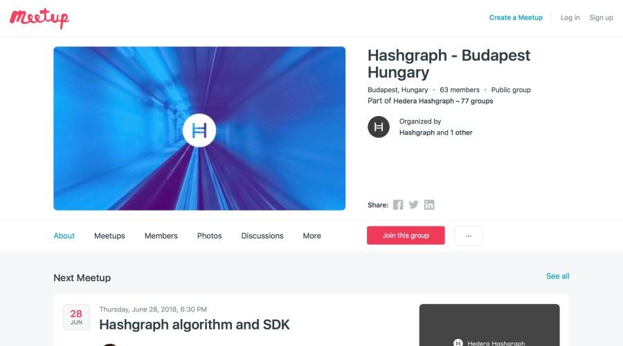 hashgraph meetup