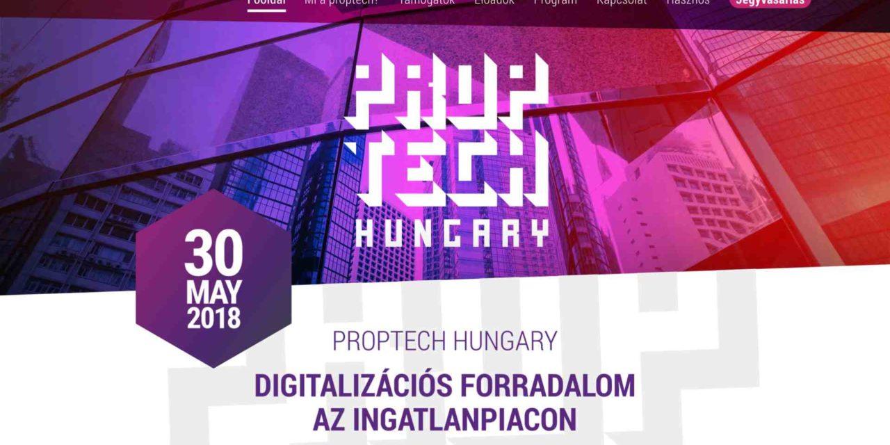 Budapesten lesz a régió első proptech konferenciája!