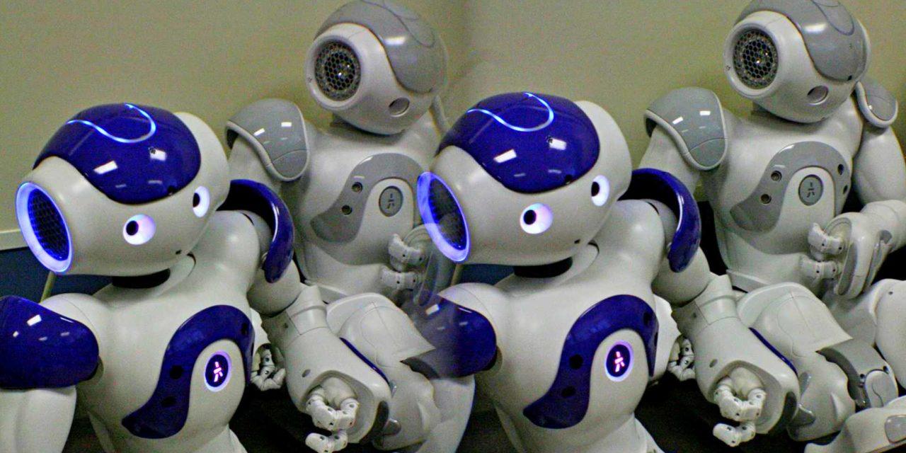 Üdvözölték a robotokat a Hello Laborban