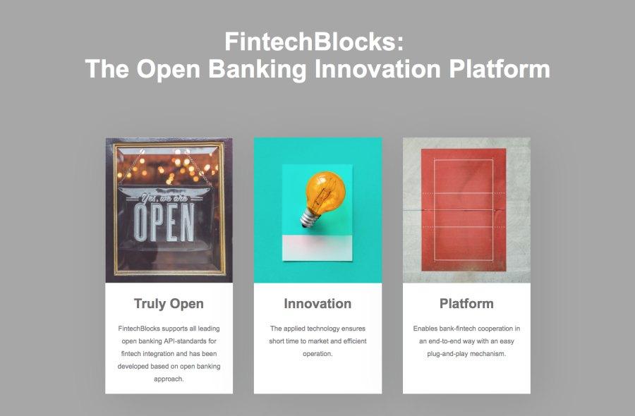FintechBlocks fintech startup