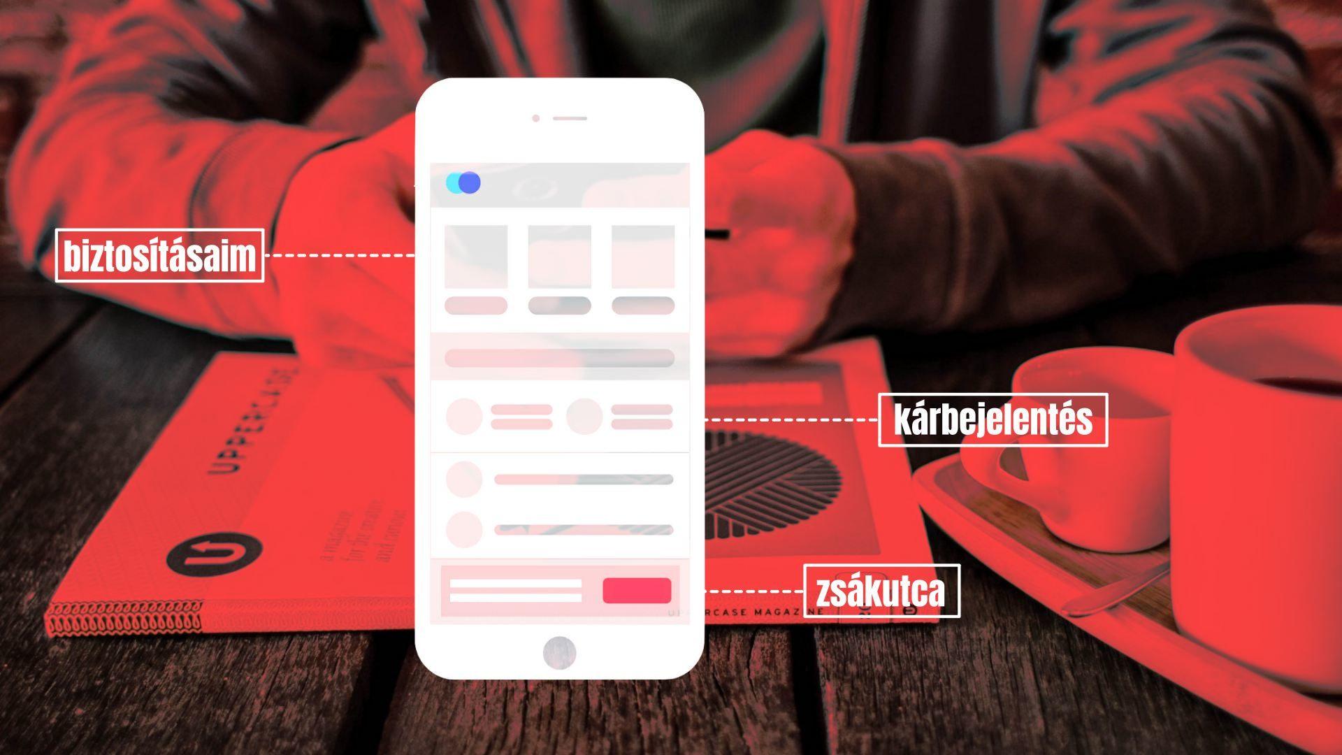 biztositoi mobilalkalmazas app karbejelentes
