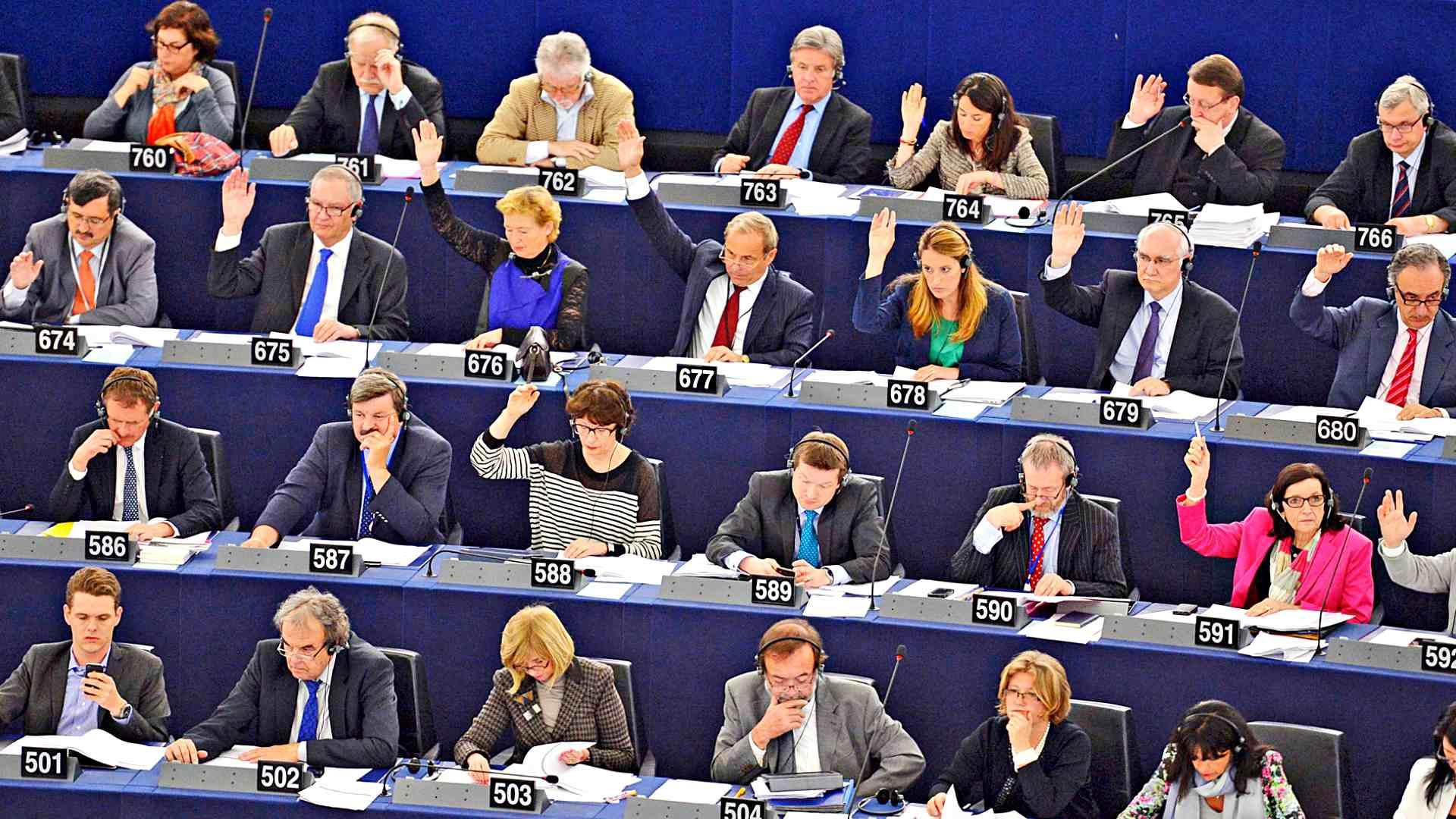 blockchain Europai Parlament blokklanc