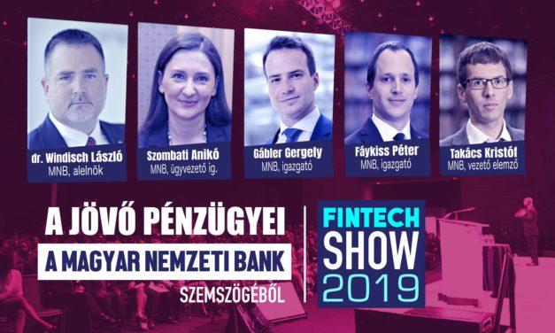A jövő pénzügyei az MNB szemszögéből a FinTechShow-n