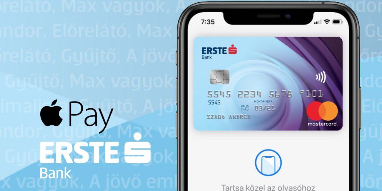Apple Pay újabb banki kör: Erste, CIB, K&H