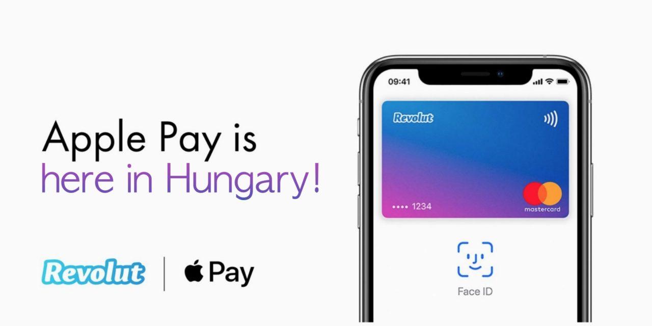 Breaking news: a Revolut is elhozta az Apple Pay-t Magyarországra!